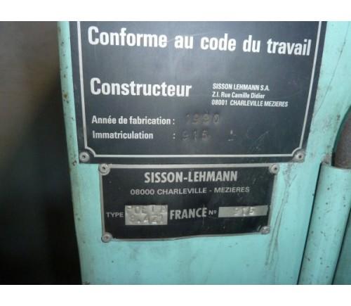 Sisson Leymann Straalmachine