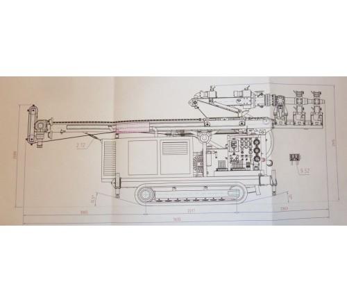 Bohranlage - AGBO G100R