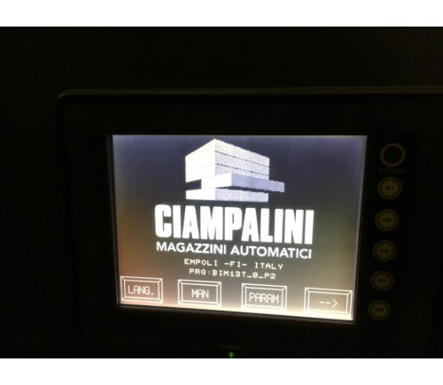 Ciampalini Hochregal Lagersystem