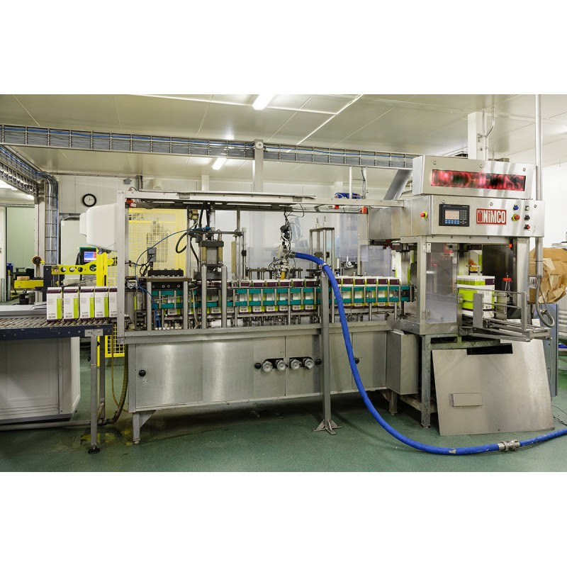 Former-applicator - sealer for board packaging ( Tetrapack)