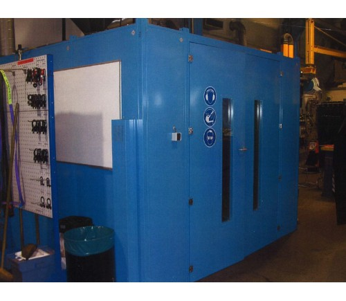 Isolated grinding welding Cabin