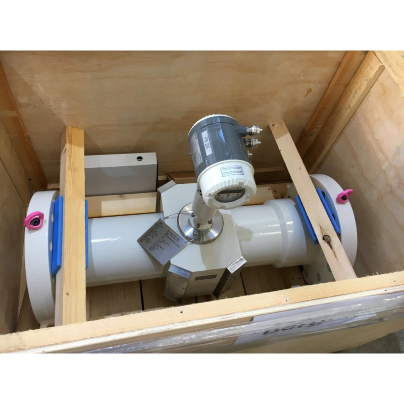 Ultrasonic gas flowmeter